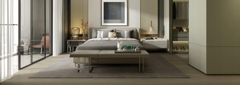 Indreting af et stilrent soveværelse